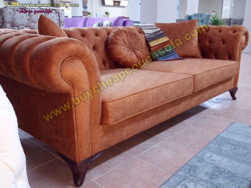 Kodu: 9637 - Luxury Chesterfield Couch