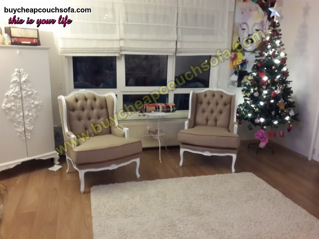 Luxury Chesterfield Sofa Set Accent Chairs